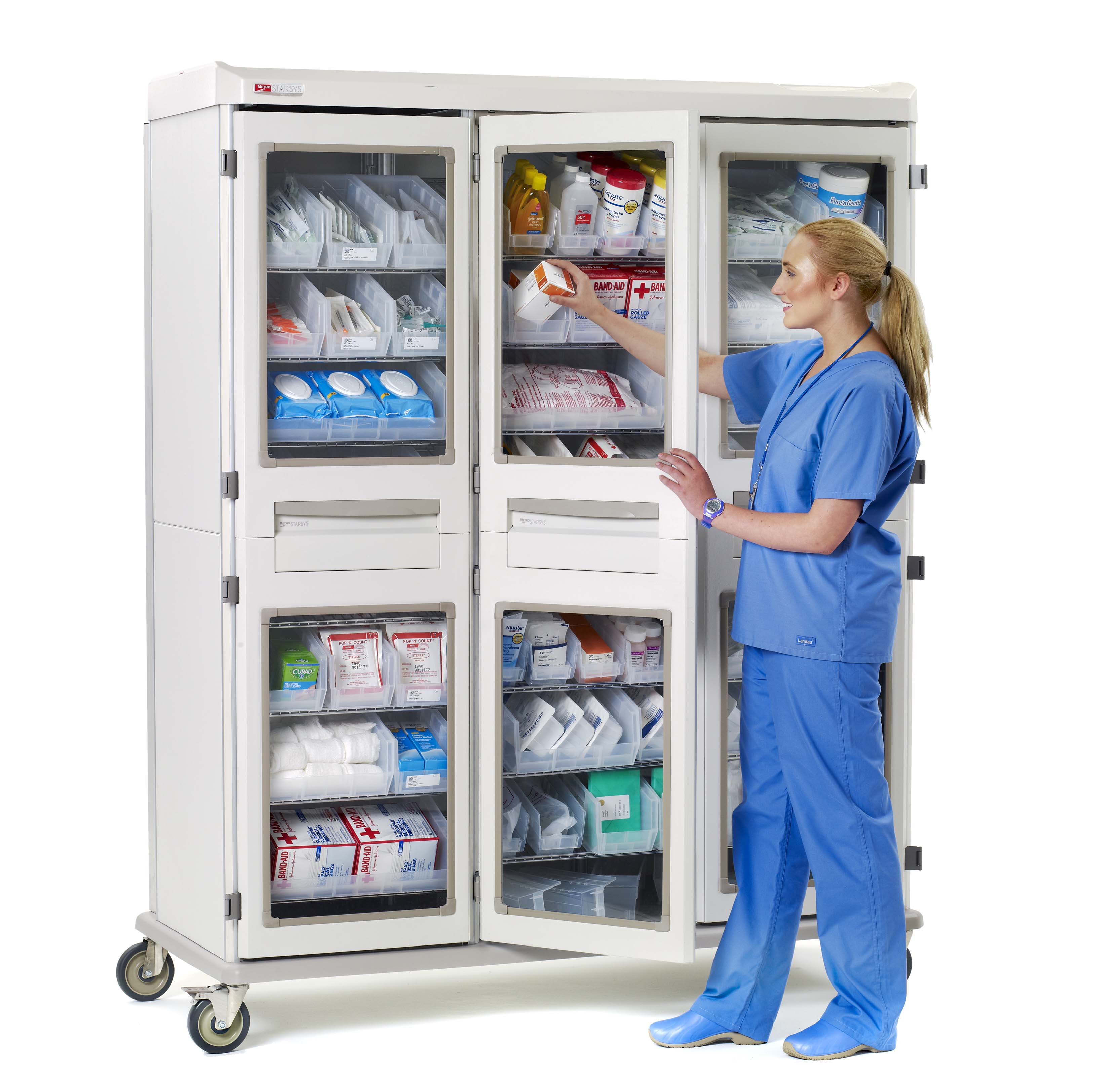 Two-Bin Kanban System for Inpatient Supply Rooms